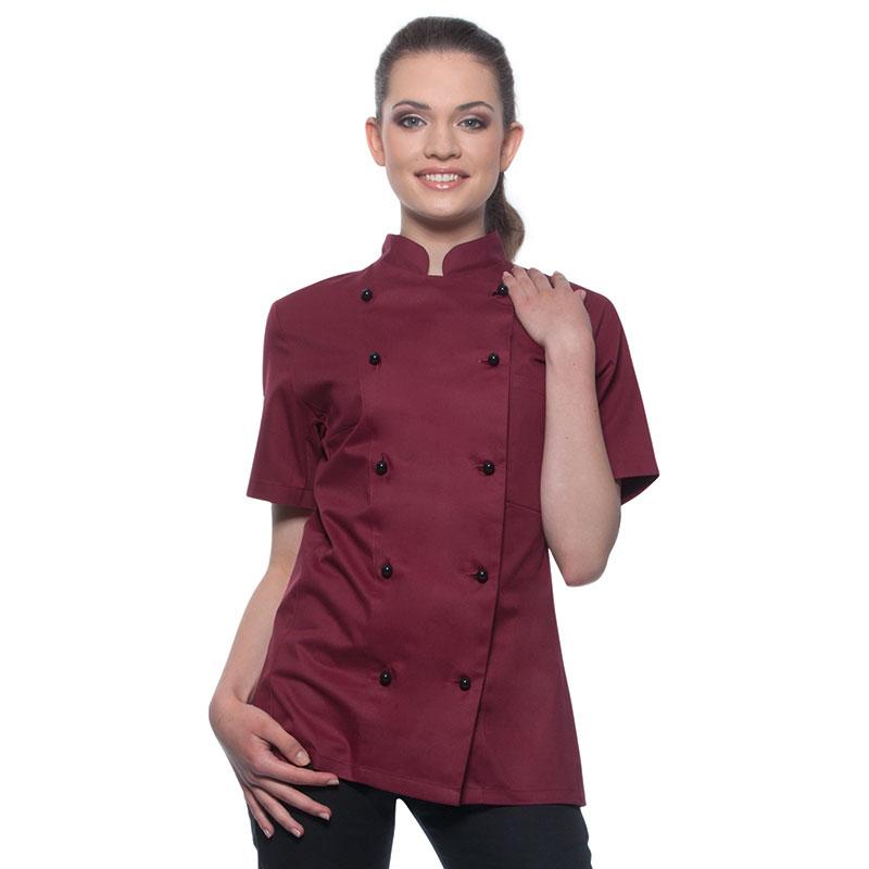 veste de cuisine a zip,veste cuisine coton,veste cuisine manche